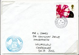 Ascension 2000 'Crater Cliff' Cachet Cover - Ascension