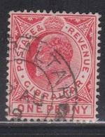 GIBRALTAR Scott # 51 Used - KEVII Definitive - Gibraltar