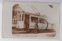 Carte Photo Tram 1910 - Cartes Postales