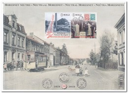 België 2019, Postfris MNH, Neutraal Moresnet - Belgium