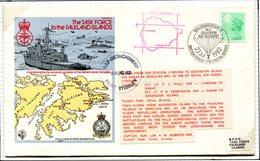 Ascension 1982 BFPO 60th Anniversary Of No 2 Squadron RAF Regiment Cover - Ascension