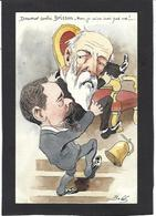 CPA Bobb Satirique Caricature Non Circulé Dessin Original Fait Main Doumer Brisson - Satirische