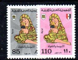 APR2263 - LIBIA LYBIA 1976 , Serie Yvert  N. 568/569  ***  MNH  Infanzia - Libia