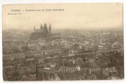 56 -Tournai   - Panorama Pris De L' Eglise Saint-Brice - Tournai