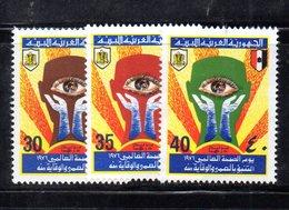 APR2265 - LIBIA LYBIA 1976 , Serie Yvert  N. 570/572  ***  MNH  Sanità - Libia