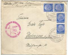 ALEMANIA 1936 CC VOLADA EN ZEPPELIN EN LA CEREMONIA DE INAUGURACION DE LOS JUEGOS OLIMPICOS DE BERLI - Summer 1936: Berlin