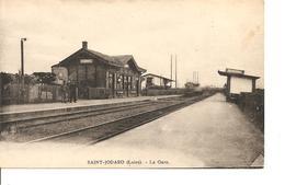 LOIRE SAINT JODARD  LA GARE ECRITE - France