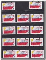 Nederland Automaatzegels 1989 Postfris MNH, Complete Set - Nederland