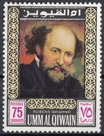Umm Al Qiwain 1967 Mi. 202 Rubens Autoritratto Quadro Dipinto Paintings Nuovo CTO - Arte