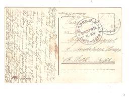 3329/ Cantons De L'Est CP Militaire  Feldpost Càp Keltenis 1916 Censure Eupen PK Befördern > St.Vith - Oorlog 14-18