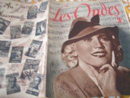 ONDES RADIO PARIS/ ERNA LACK/COLLABORATION TESSIER/QUINTIN VERDU ELENA GLAZOUNOV /PRISONNIERS/ DISQUES - 1900 - 1949