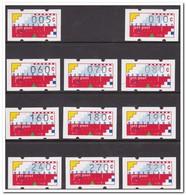 Nederland Automaatzegels 1991 Postfris MNH, Complete Set - Nederland