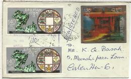 BHUTAN CC CERTIFICADA A INDIA SELLO LENTICULAR INDUSTRIA MINERIA MINNING - Minerales