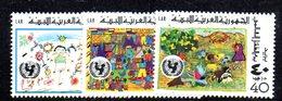 APR2271 - LIBIA LYBIA 1977 , Serie Yvert  N. 617/619  ***  MNH  Infanzia - Libia