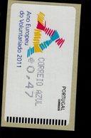 74 Jahr Der Freiwilligkeit Correio Azul Große Schrift** Postfrisch, MNH, Neuf (9) - Automatenmarken (ATM/Frama)