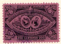 GUATEMALA - (République) - 1897 - N° 74 - 200 C. Lilas-rose - (Exposition De L'Amérique Centrale) - Guatemala