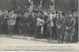 Tamines.   -   Manifestation Patriotique Du 25 Mai 1919 - Sambreville