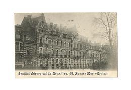 Institut Chirurgical De Bruxelles, 58, Square Marie-Louise (1914). - Santé, Hôpitaux