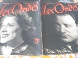 ONDES RADIO PARIS/MICHELE DORLAN /KREUDER /COLLABORATION TESSIER/CHARLOTTE LYSES RAYMOND BOUR /ROUMANIE/PROGRAMME - 1900 - 1949