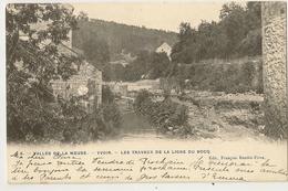 8 -Yvoir - Les Travaux De La Ligne Du Bocq - Yvoir