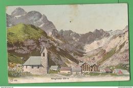 Svizzera Meglisalp Suisse Cp 1960 Rifugio Mountain Hut Berghütte - Altri