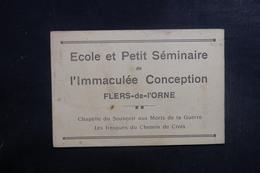 FRANCE - Fascicule De L 'Immaculée Conception De Flers De L 'Orne - Fresque Du Chemin De Croix - L 39564 - Vieux Papiers