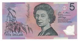 Australia 5 Dollars, 2008, UNC Polymer. - Dezimale Regierungsausgaben 1966-...