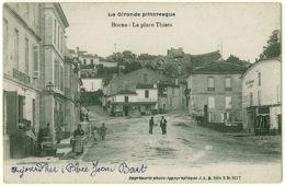 33 - B55354CPA - BOURG SUR GIRONDE - Place Thiers - Jean Bart - Très Bon état - GIRONDE - Francia