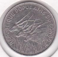 Republique Populaire Du Congo. 100 Francs 1971, En Nickel. KM# 1 - Congo (République 1960)