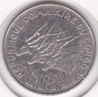 Republique Populaire Du Congo. 100 Francs 1972, En Nickel. KM# 1 - Congo (Repubblica 1960)