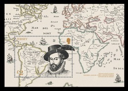 Jersey 2019 Mih. 2288 (Bl.184) Governor Of Jersey Sir Walter Raleigh. Ships MNH ** - Jersey