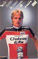 VANOTTI Ennio ITA (Almenno San Bartolomeo (Lombardia), 13-9-'55) 1989 Chateau D'Ax - Cyclisme