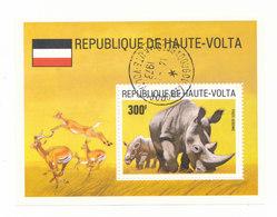 RHINOCEROS - Upper Volta (1958-1984)