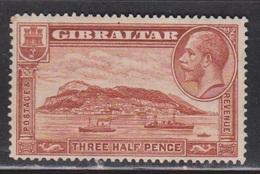 GIBRALTAR Scott # 97 MH - KGV & Ships - Gibraltar