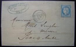 Paris 1871 à Sainte Geneviève Laines Canevas Tapisseries M Périllieux Michelez, Blazy Frères Gendres Et Successeurs - 1849-1876: Periodo Clásico