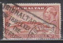 GIBRALTAR Scott # 97 Used - KGV & Ships - Gibraltar
