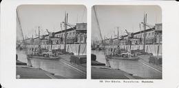 Duitsland/Deutschland, Stereoscoopfoto, Der Rhein, Mannheim, Rheinhafen, Ca. 1920 - Stereoscopio