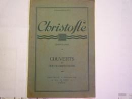 """GP 2019 - 1937  CATALOGUE """"CHRISTOFLE""""  N°4  1927  Couverts Et Petite Orfèvrerie  (55 Pages)  XXX - Publicités"""
