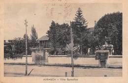 """08519 """"AIRASCA - TORINO - VILLA SPREAFICO"""" CART. ORIG. SPED. 1931 - Pubblicitari"""