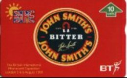 UK : BTG569 JOHN SMITH's BITTER  Red   Beer Thematic MINT  (x) - Regno Unito