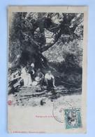 C. P. A. : ETHIOPIE : Paysage Près De HARAR, Animé, Timbre En 1908 - Ethiopië