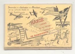 Carte (collée Sur Carton ) - Souvenir De La Libération De HARZE - AYWAILLE - Guerre 40/45  (b255) - Aywaille