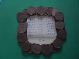 36 Pièces De 1 Fr - Munten & Bankbiljetten