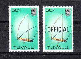 Tuvalu -1983. Trappole. Animal Traps.  Francobollo Serie Corrente E I Official. Current And Official Series. MNH - Altri