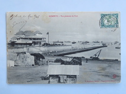 C. P. A. : DJIBOUTI : Vue Générale Du Port, Animé, Timbre En 1906 - Gibuti