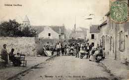 MESSY - La Grande Rue (animation Charrettes Et Villageois) - Altri Comuni