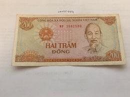 Vietnam 200 Dong Banknote 1987 - Vietnam