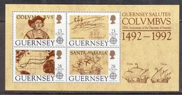 Guernsey MNH Michel Nr Block 8 From 1992 CEPT / Catw 10.00 EUR - Guernsey
