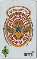 UK : BTG625 NEWCASTLE Brown Ale     Beer Thematic MINT  (x) - Regno Unito