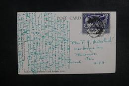 BARBADES - Affranchissement Plaisant Sur Carte Postale Pour Les Etats Unis En 1950 - L 39586 - Barbades (...-1966)